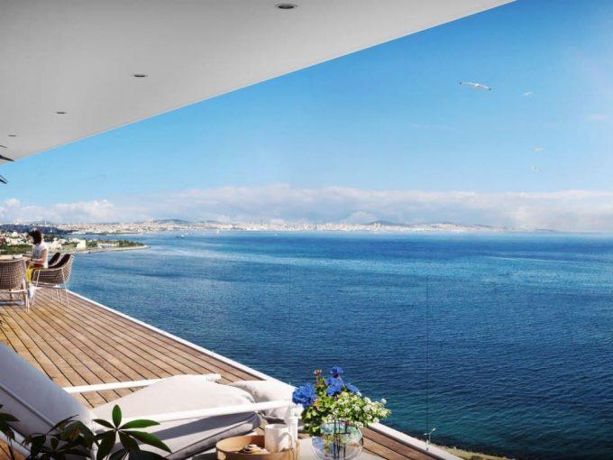 خرید خانه با دید دریا در ترکیه