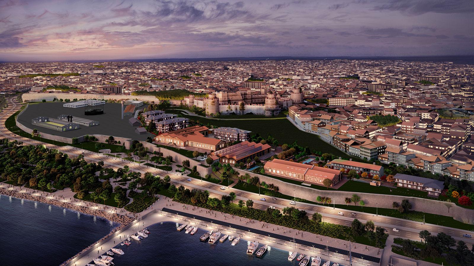 خرید خانه با دید دریا در منطقه Fatih از سایت خرید ملک در استانبول