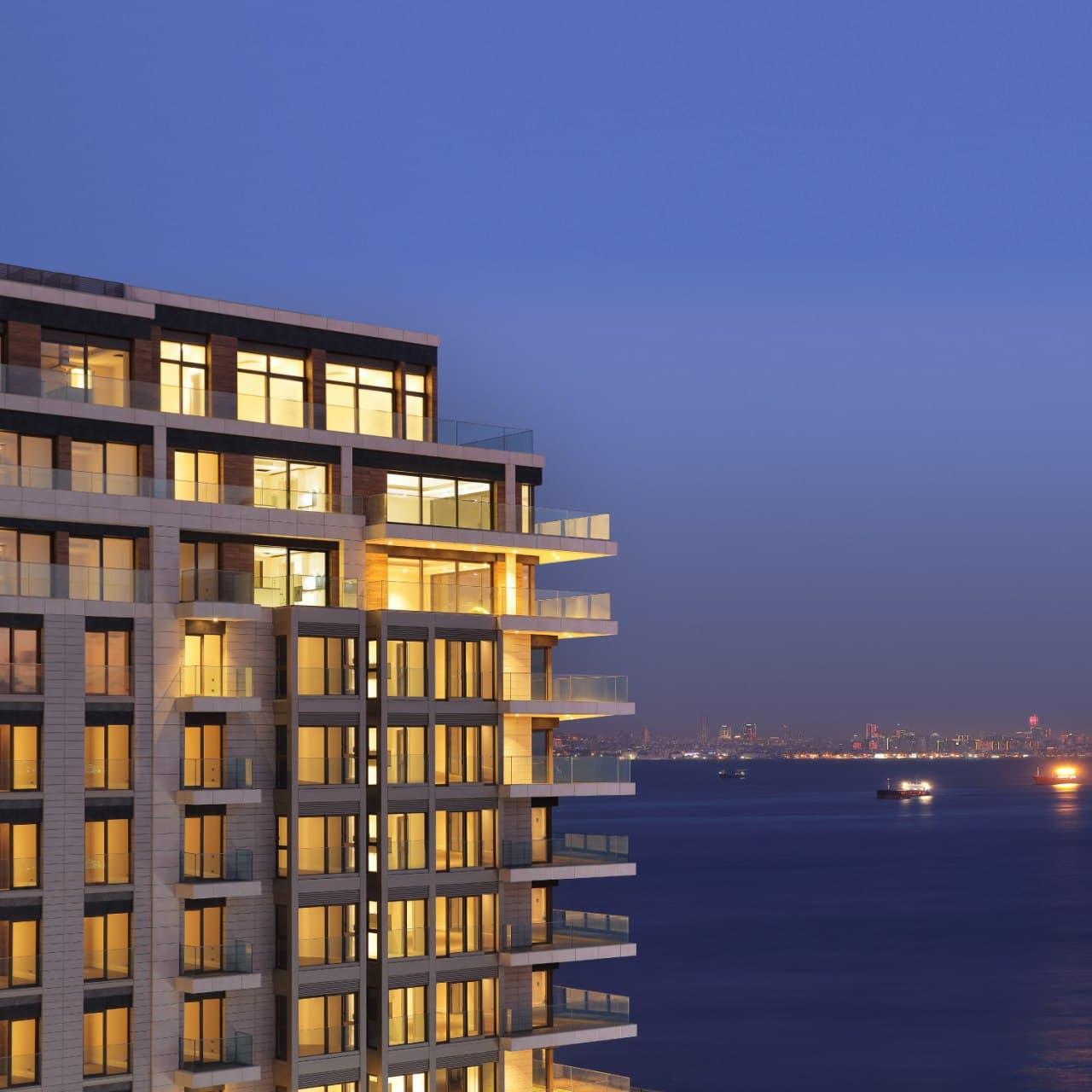 خرید آپارتمان در شهر ساحلی استانبول Zeytinburnu ترکیه